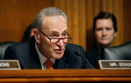 Sen._Charles_Schumer,_(D-N.Y)_makes_opening_remarks_during_a_hearing_attended_by_a_panel_of_Department_of_Homeland_Security_senior_officials