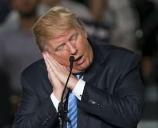 sleepy trump